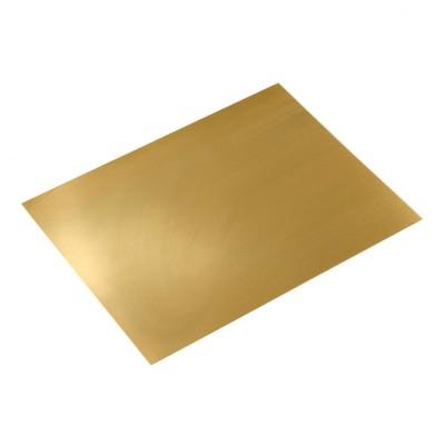 Brass sheets 0,2 mm.220x170