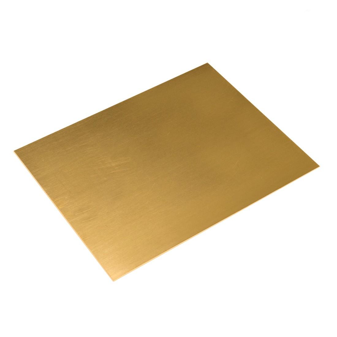 Planchas de latón 1 mm.220x170