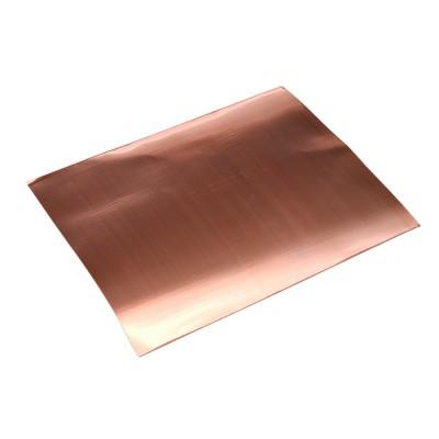 Hojas de cobre 200x250mm