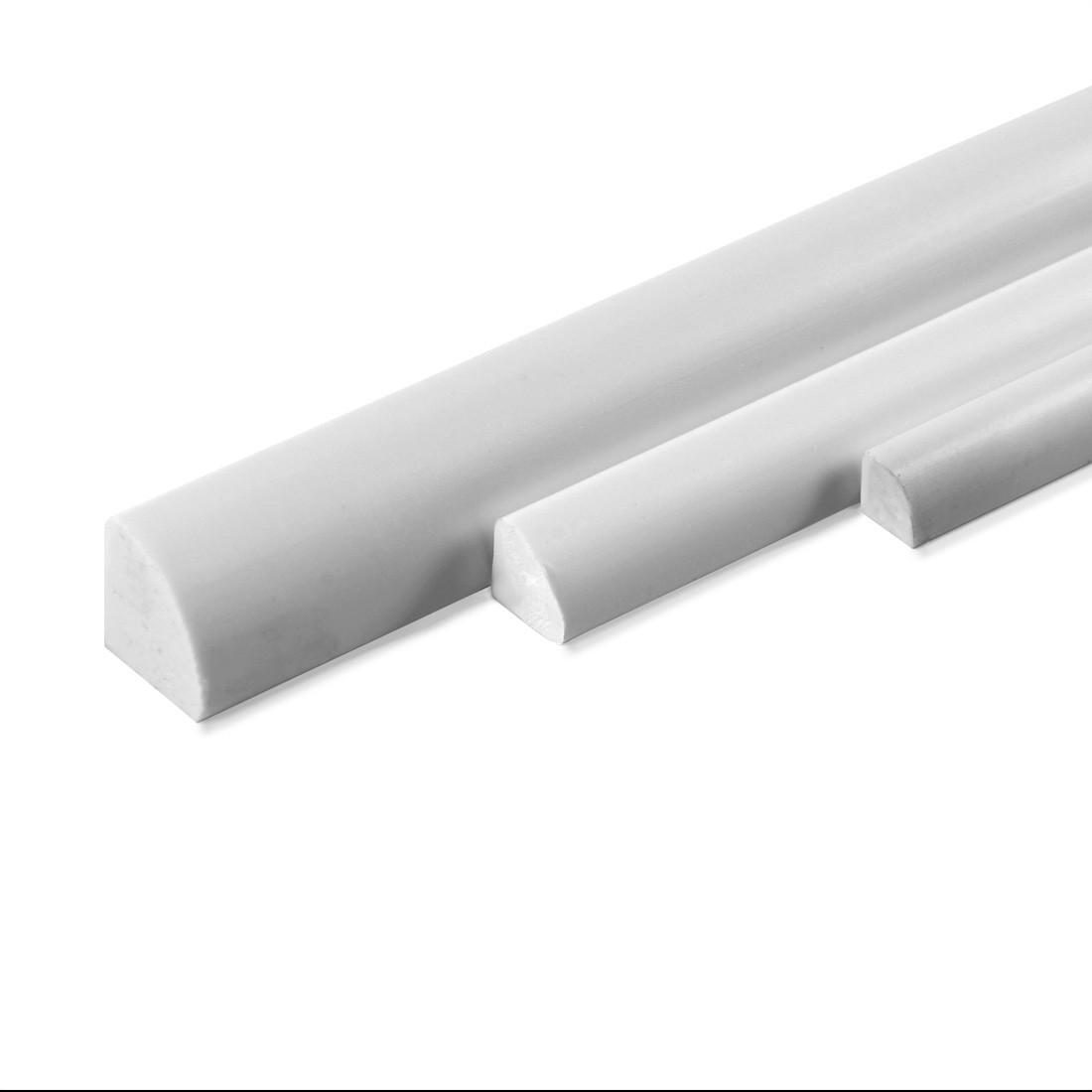 Profile ASA ¼ de rond mm.3x1000