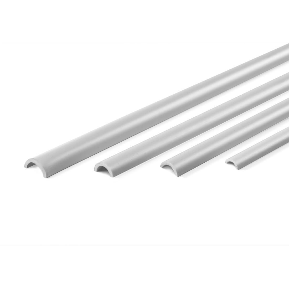Profile ASA démi tube mm.4,5x6x1000