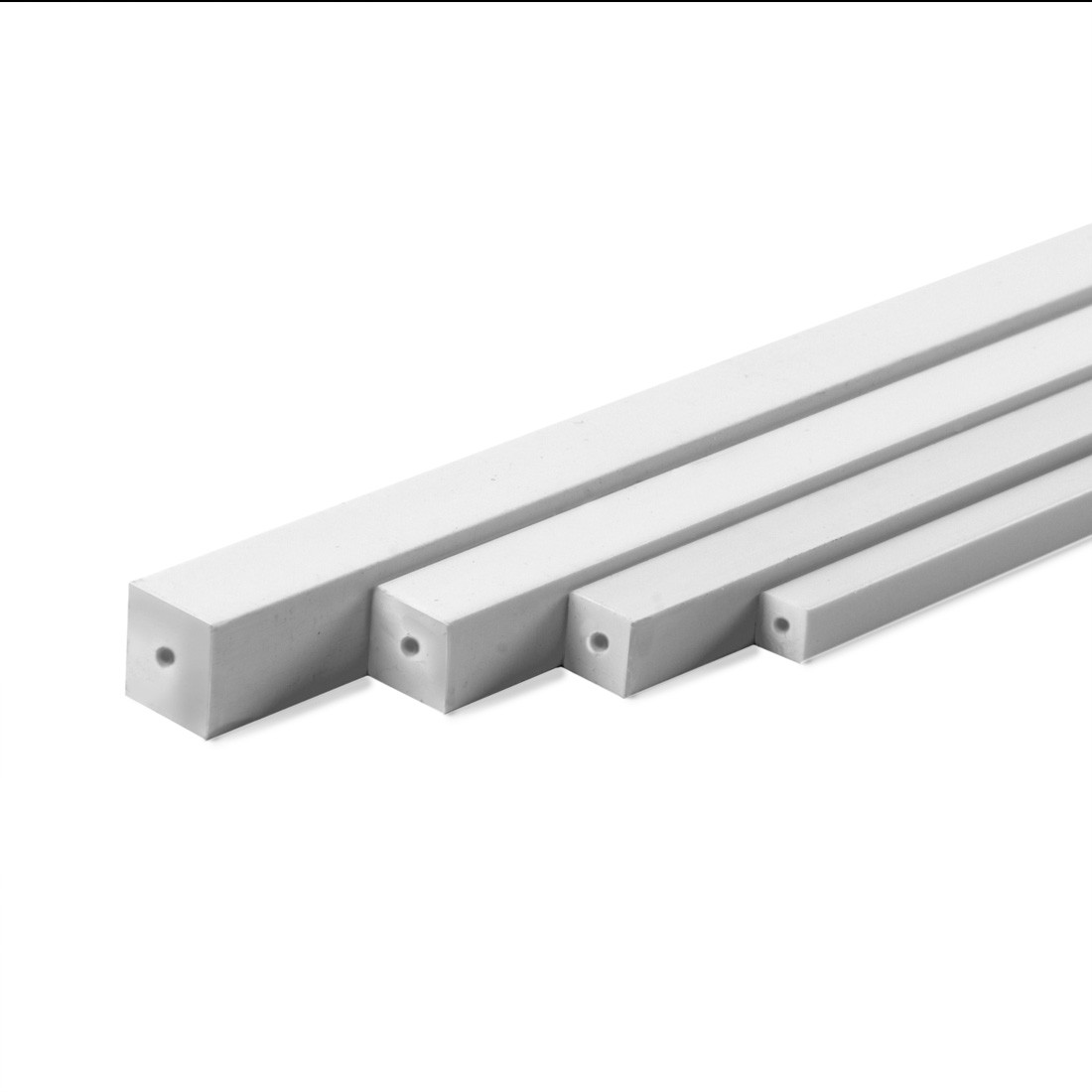 Profile ASA carré mm. 1x1000