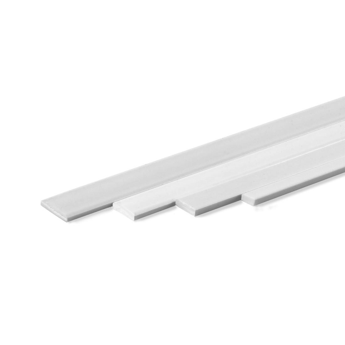 Perfil rectangular ASA mm.1x3x1000
