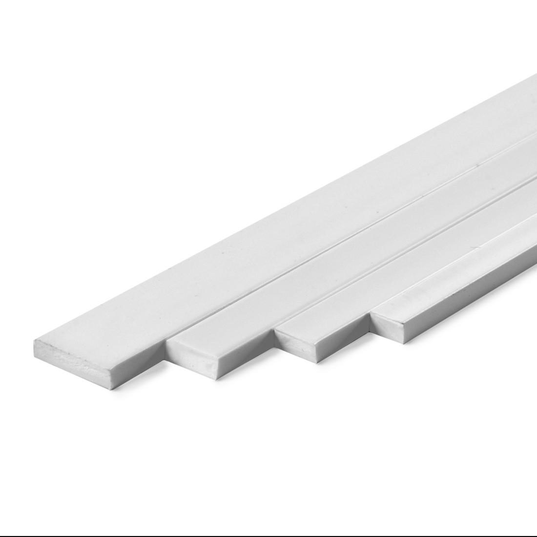 Perfil rectangular ASA mm.2x3x1000