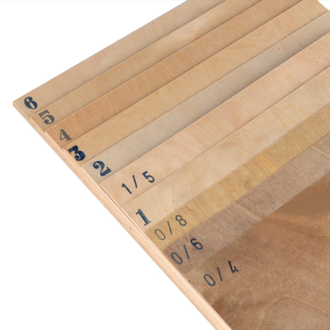 Avio Birch plywood mm.2 cm.122x40