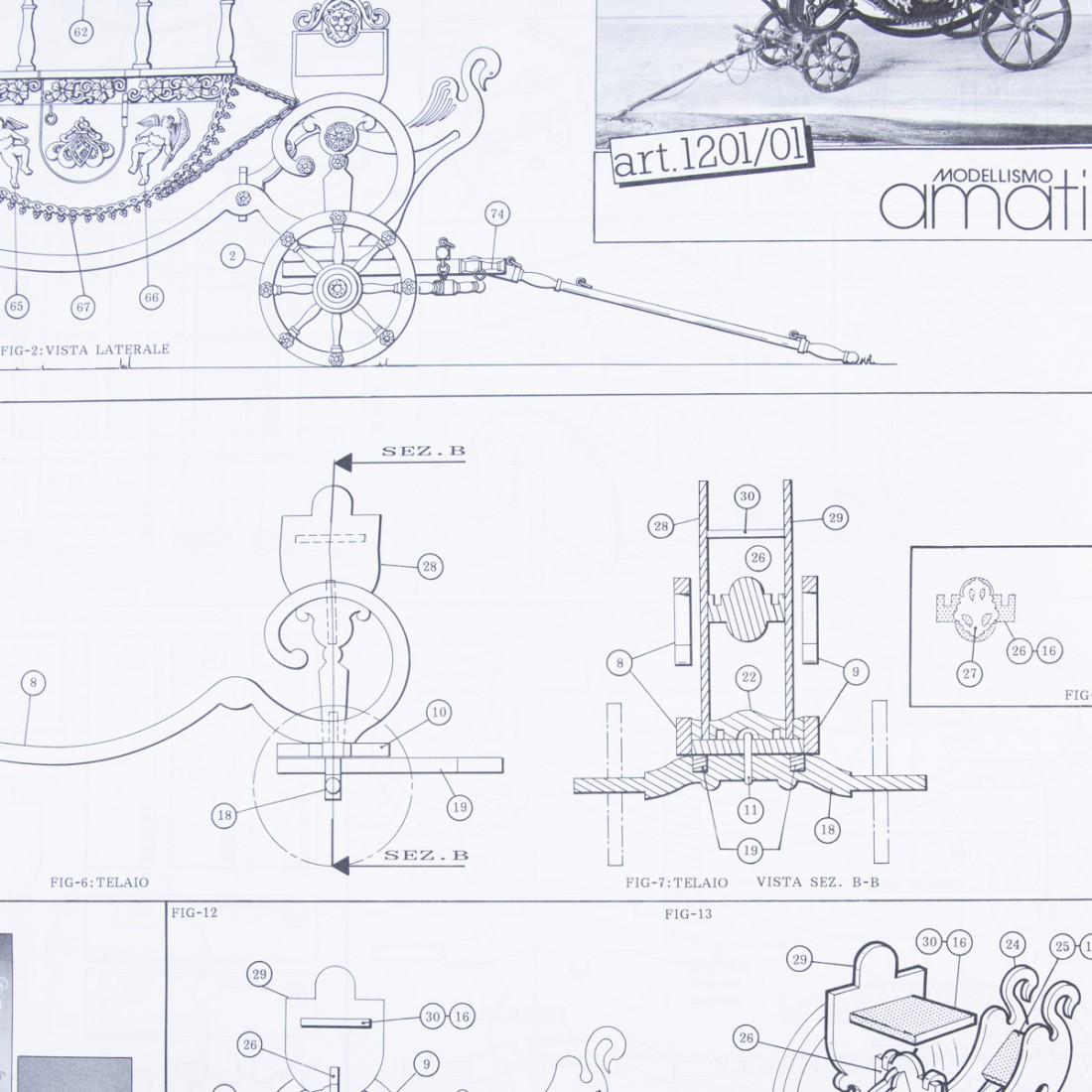 Piano costruzione Carrozza Ducale