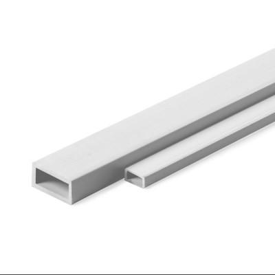 Profilato A.S.A. tubo rettang.mm.2x4x1000