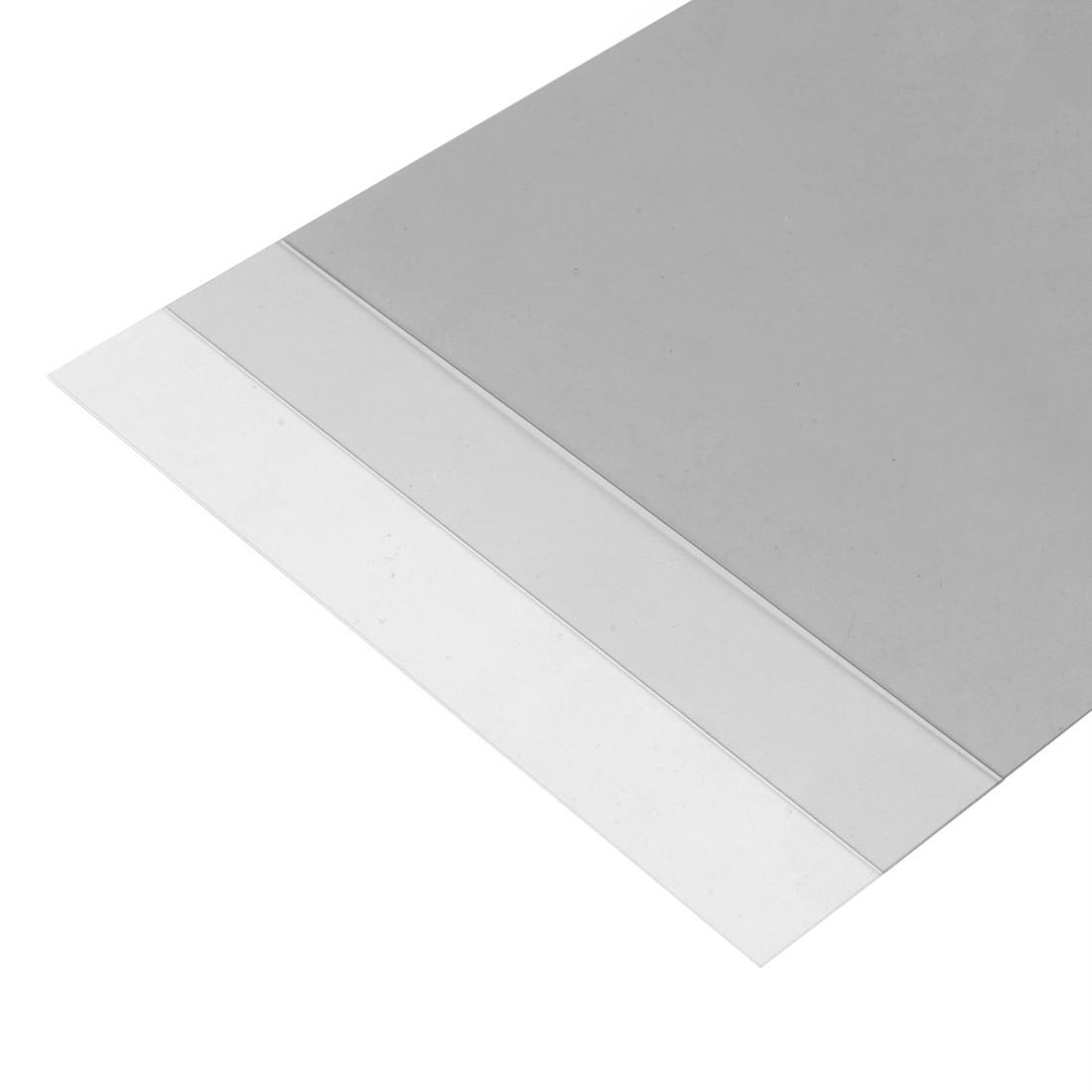 Lámina de PVC transparente mm.194x320 - mm.0,25