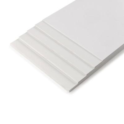 Foglio PVC foam bianco mm.194x320  mm.2