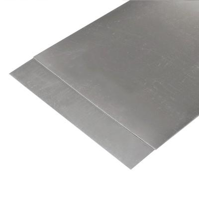 Foglio Styrene argento mm.194x320  mm.1