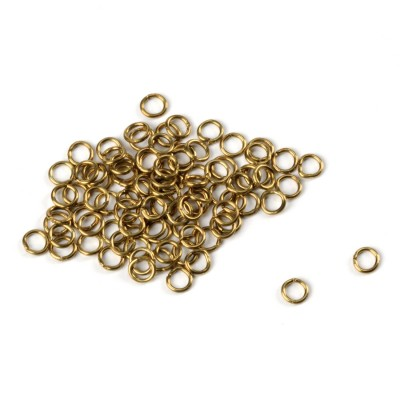 Model Boat Fittings Amati A4000//02 laiton anneaux 2 mm 100