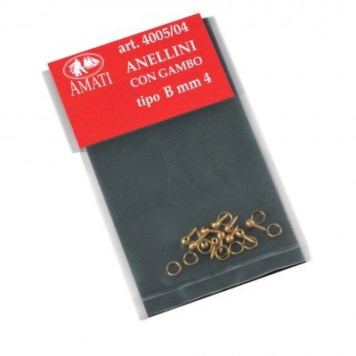Brass rings bolts type B