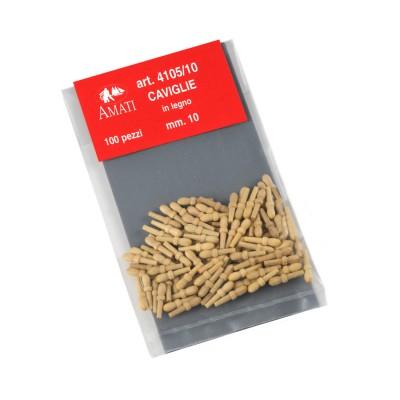 Boxwood belaying pins mm.10
