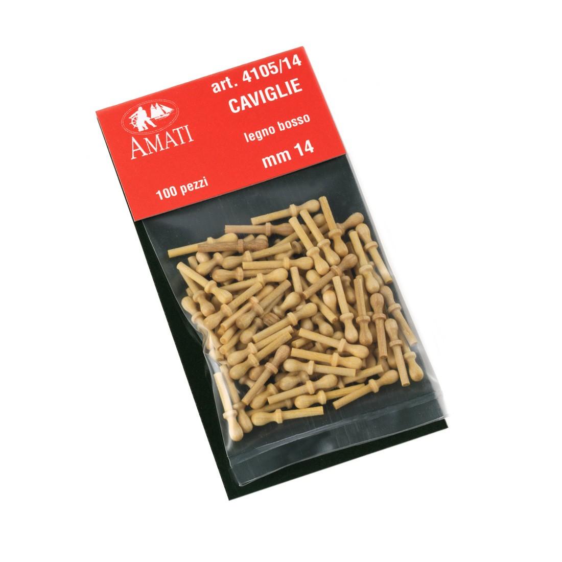 Boxwood belaying pins mm.14