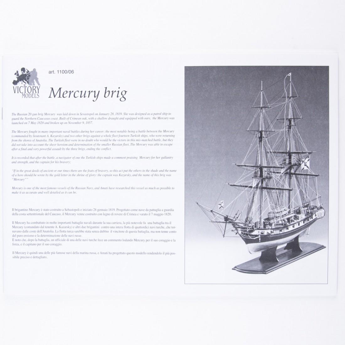 Plan Mercury 1820