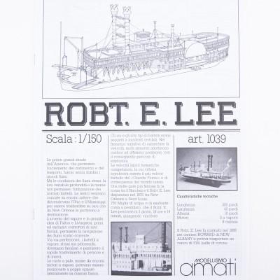 Piano costruzione Robert E. Lee