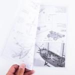Piano costruzione Adventure - Nave Pirata 1760
