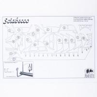 Piano costruzione Nuovo Sciabecco 1753
