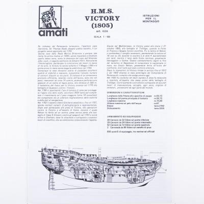 PIANO DI COSTRUZIONE AMATI SOVEREIGN OF THE SEAS