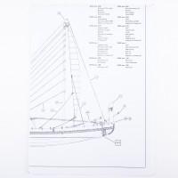 Piano costruzione Nave Egizia