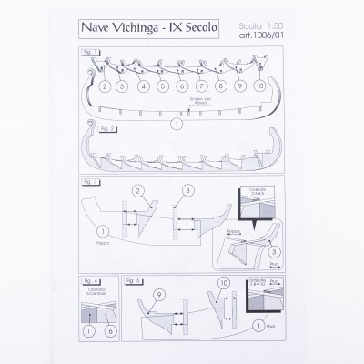 Viking ship Plan