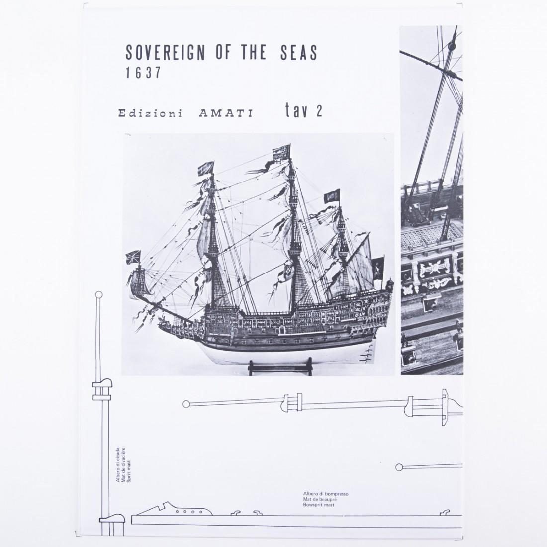 Plan Sovereign Of The Seas
