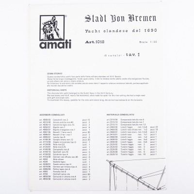 Piano costruzione Stadt Von Bremen