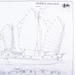 Piano costruzione Giunca Pirata Cinese