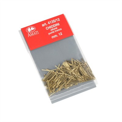 Brass nails cut point mm.12
