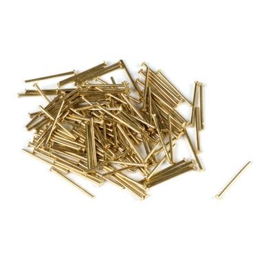 Chiodini ottone mm. 12 tronchi