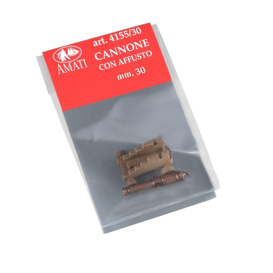 Cañones con carro mm.30