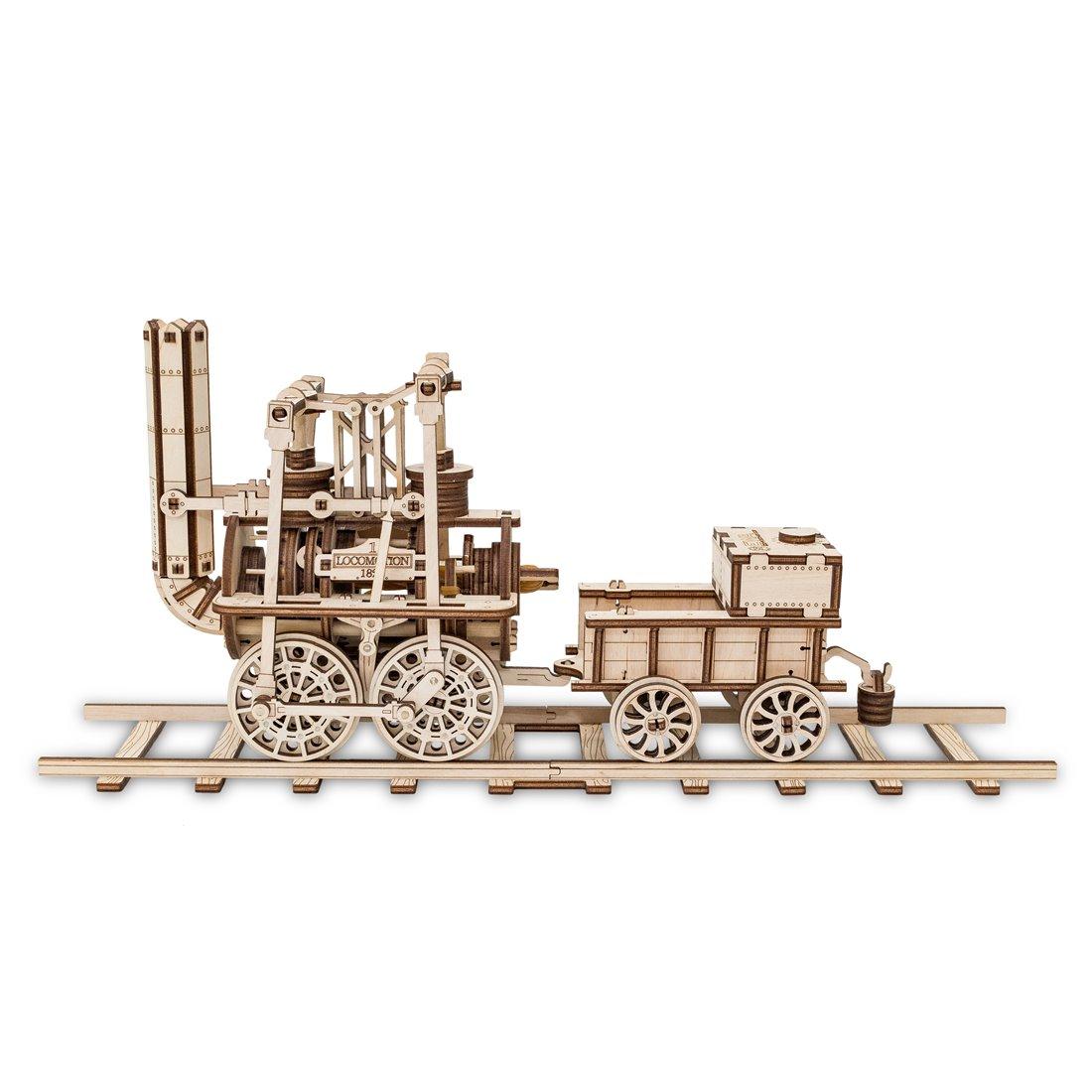 Kit locomotiva in legno pretagliato