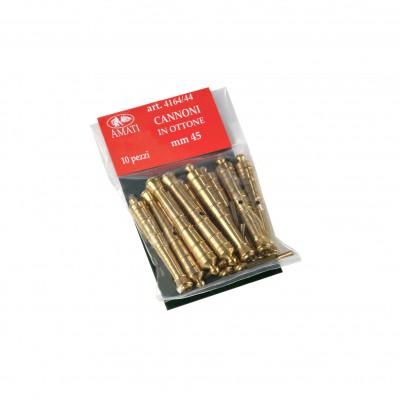 Cannoni mm. 45 ottone