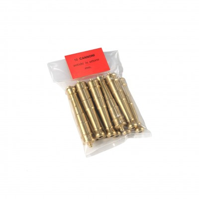 Tubes canons mm.65 laiton