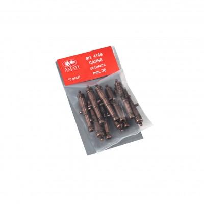 Tubes canons décorés mm.36