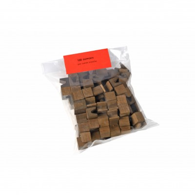 Supporti canne tronche in legno