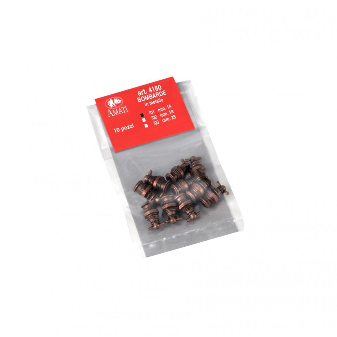 Metal mortars mm.14