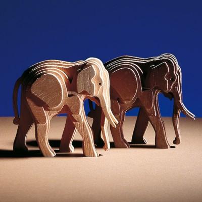 Woodline elefante piccolo