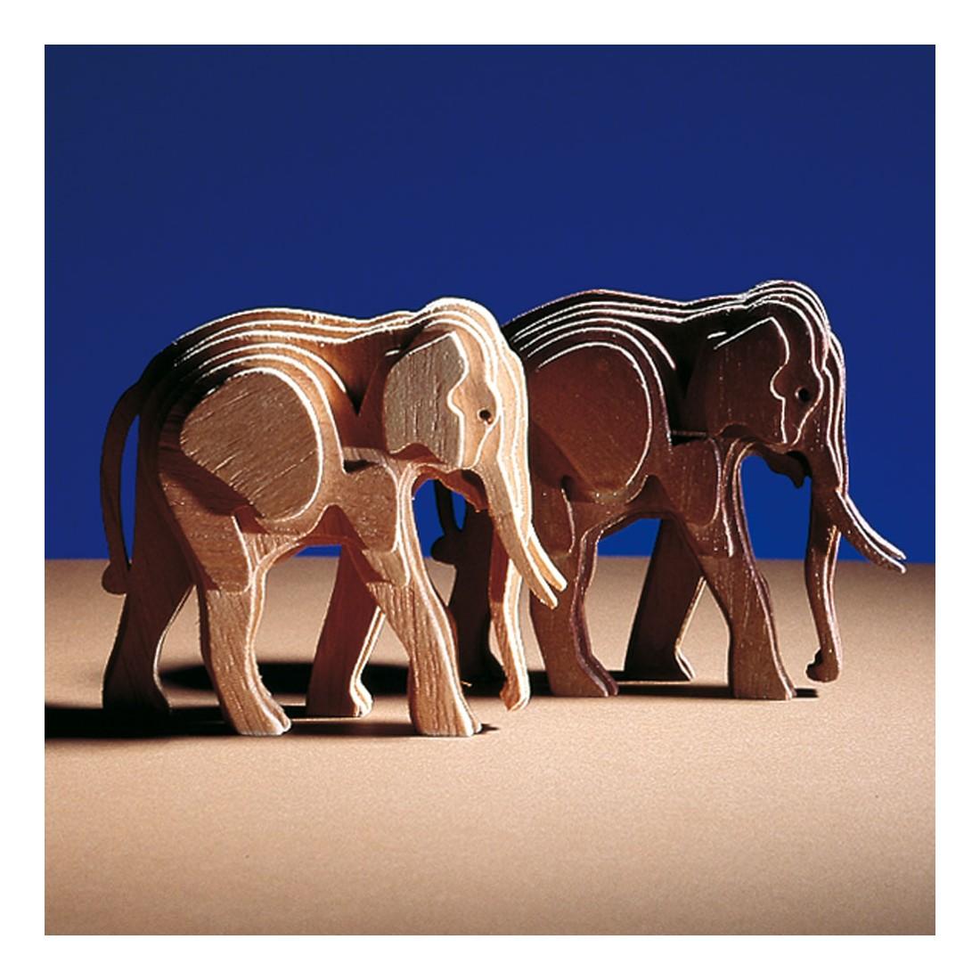 Woodline baby elephant