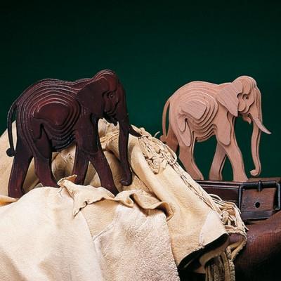 Woodline elefante grande