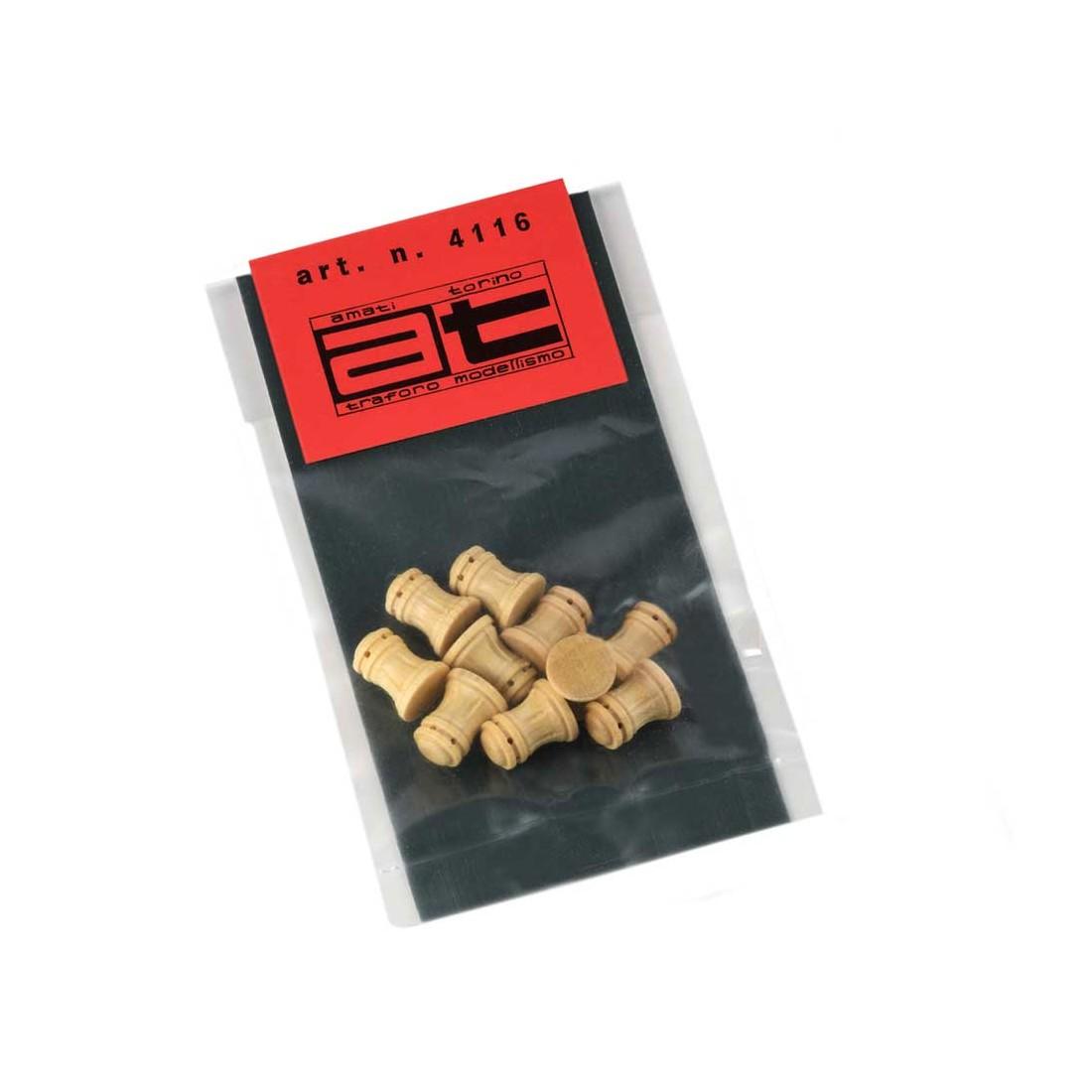 Argani verticali bosso tipo E mm. 10