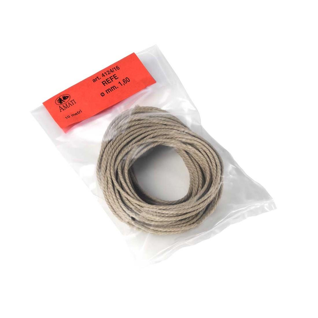Rope mm.1,60  10 mt.