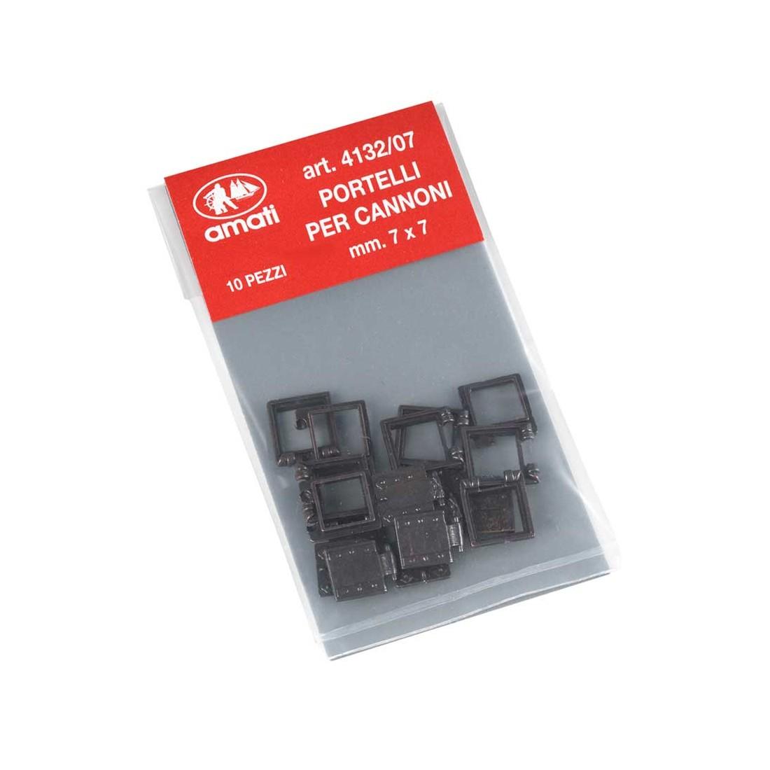 Gun ports mm.7x7