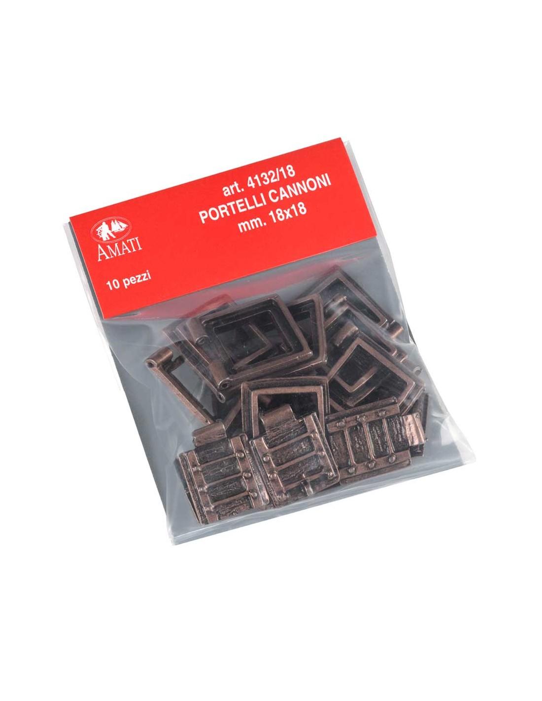 bozzelli 1 foro  5 mm bosso 100 pezzi amati art 4087//05 accessori modellismo