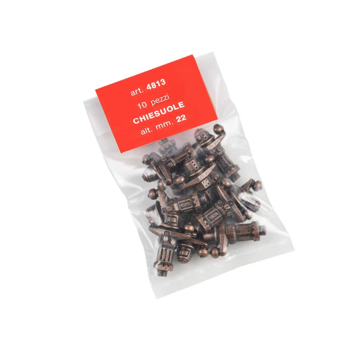 Chiesuole in Metallo mm. 22