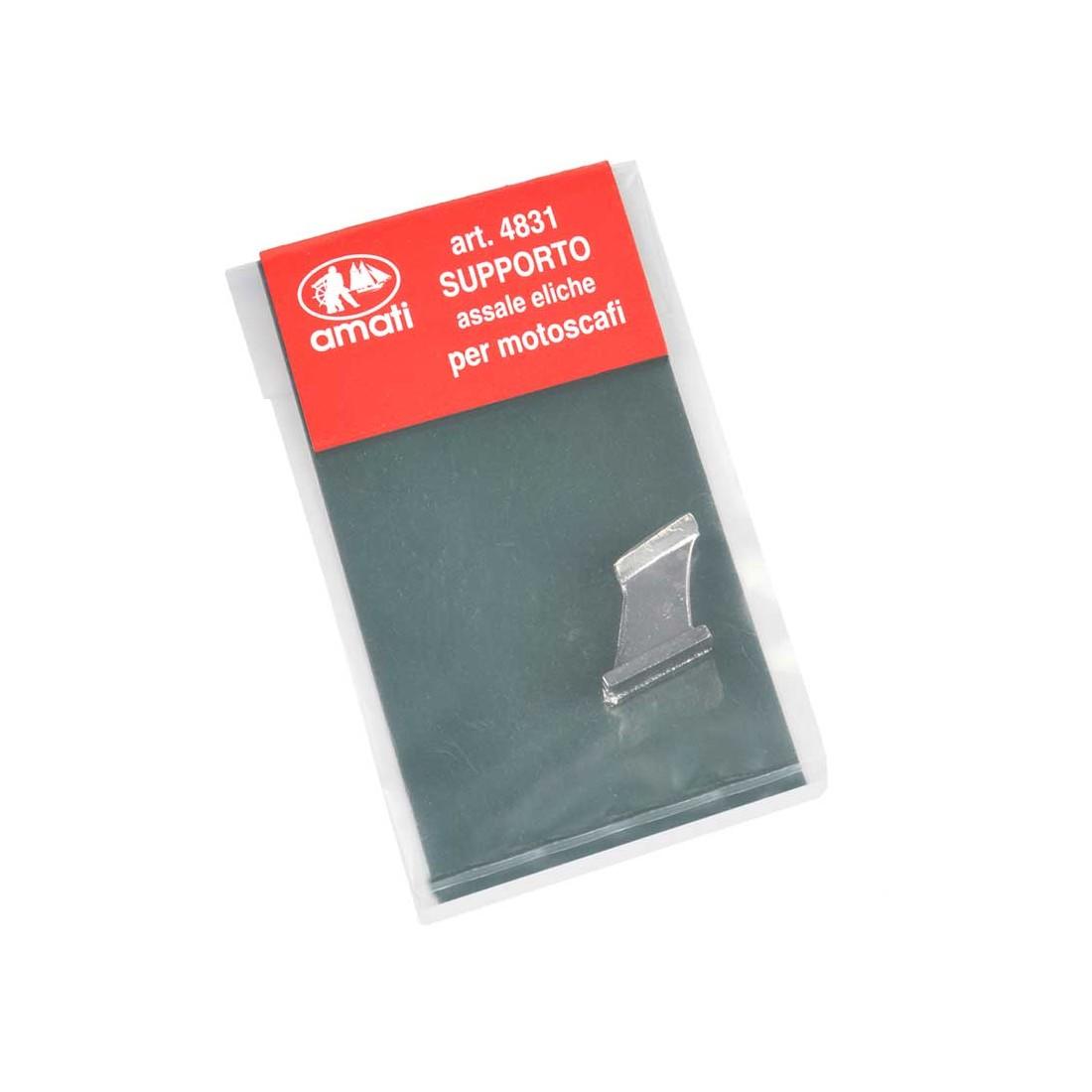 Support axe hélice métal