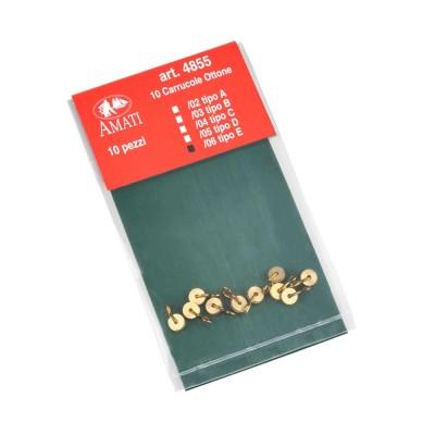 Brass working blocks type E