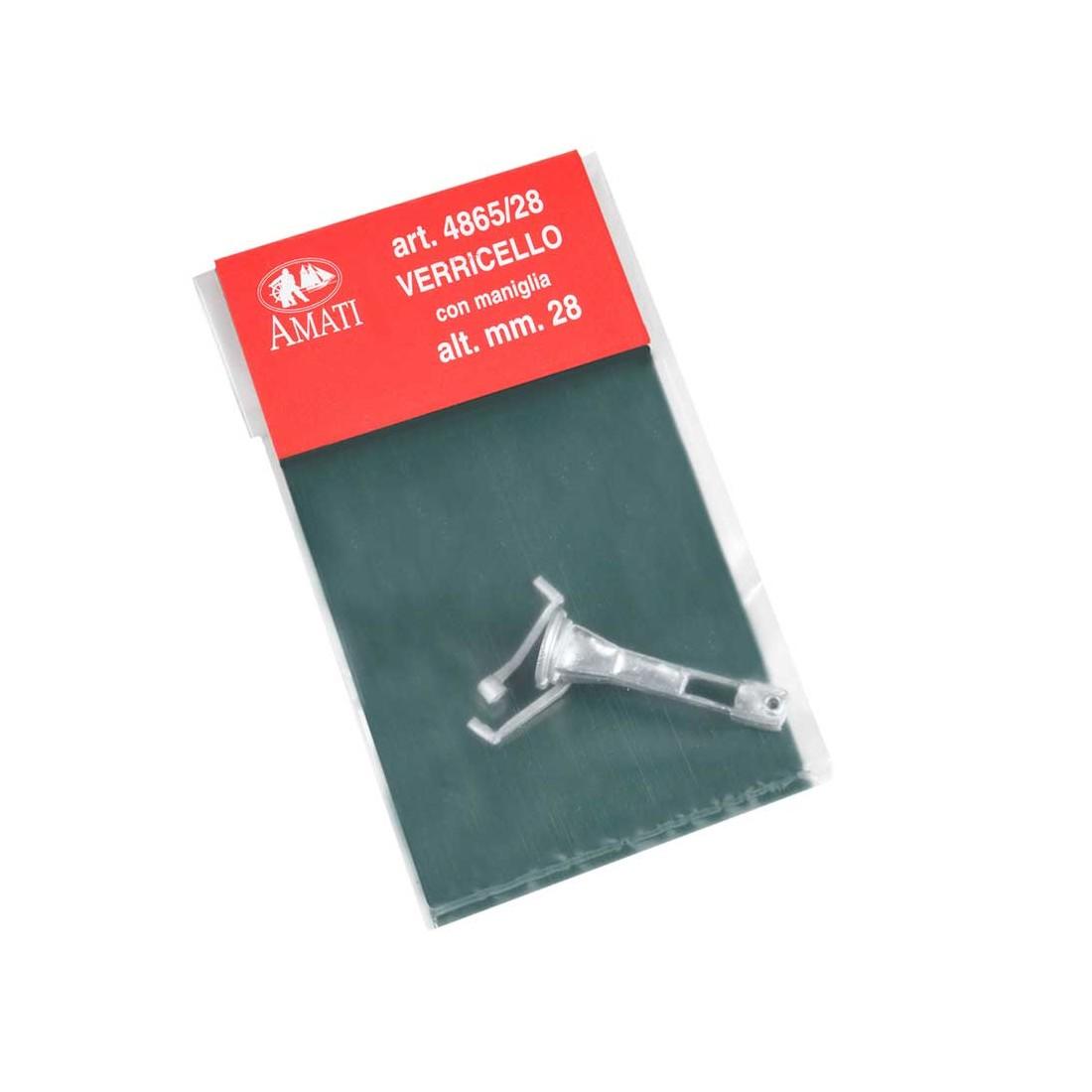 Verricelli con maniglie mm. 9x28