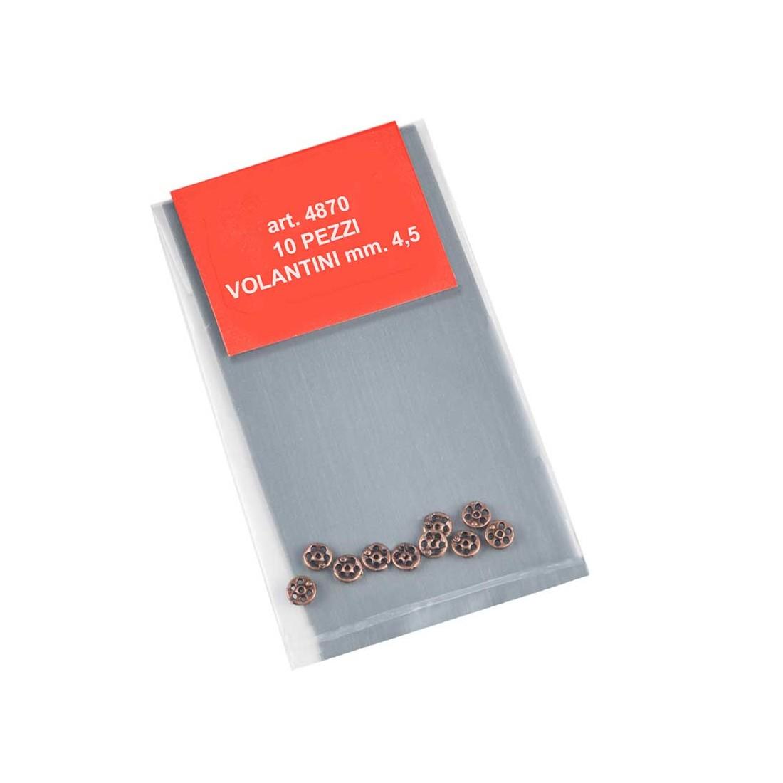 Ruedas manuales de metal mm.4,5.