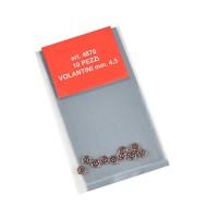 Volantini mm.4,5 metallo